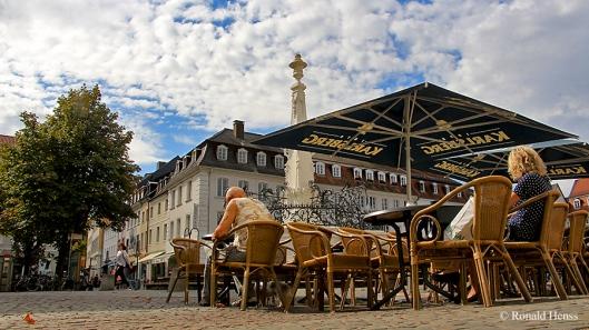 St. Johanner Markt mit Stengel-Brunnen, Saarbrücken